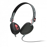 SKULLCANDY Navigator On-Ear w/Mic 3 [S5AVFM-353] - Elephant Gray/Gray/Hot Red - Headphone Portable